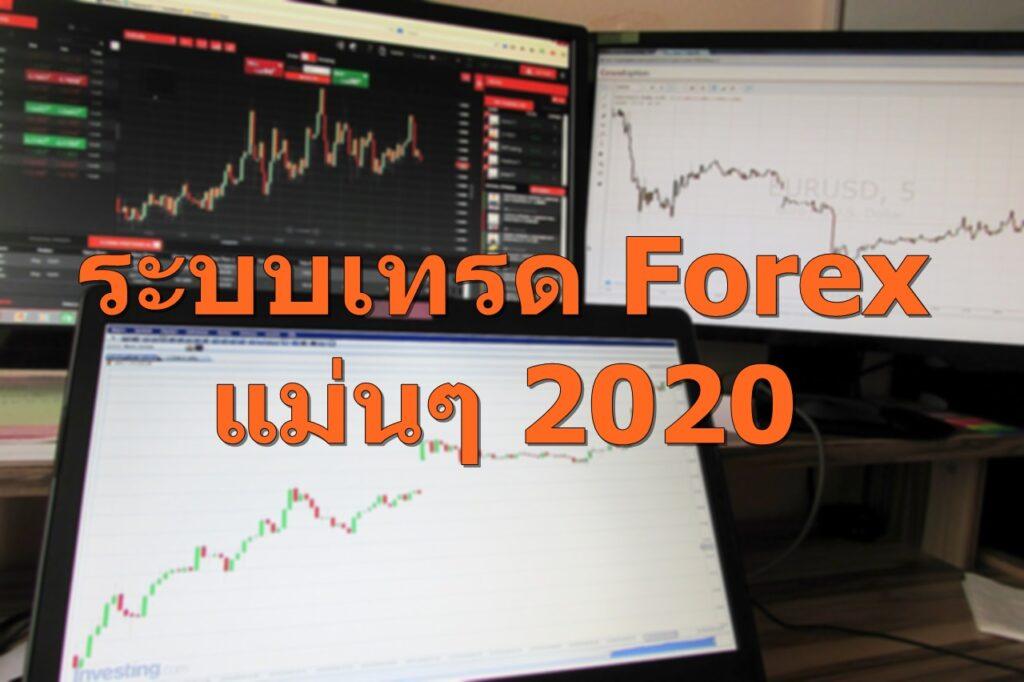 ระบบเทรด forex แม่นๆ 2020 1